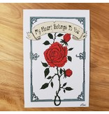 Valentine Card - My Heart Belongs To You - Nick Walsh Designs