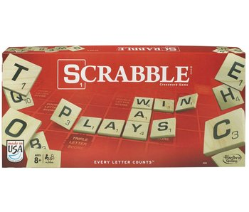 Scrabble Classic Crossword Game - English