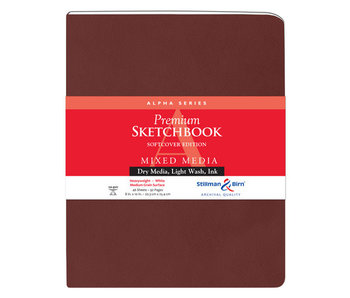 STILLMAN & BIRN PREMIUM SKETCHBOOK MIXED MEDIA 8x10 Softcover