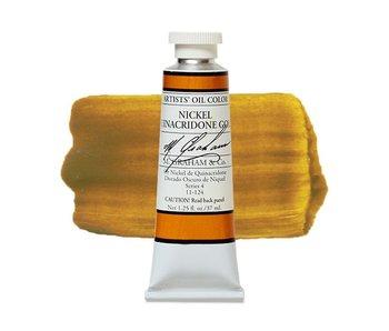 M GRAHAM ARTIST OIL COLOR SERIES 4 NICKEL QUINACRIDONE GOLD