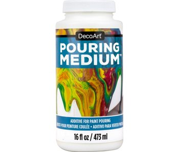 DECOART CLEAR POURING MEDIUM 16OZ