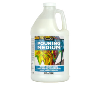 DECOART CLEAR POURING MEDIUM 64OZ