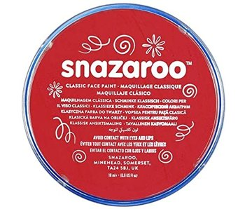 SNAZAROO FACE PAINT 18ML BRIGHT RED