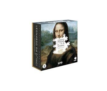 Mona Lisa PUZZLE 1000pcs - Londji