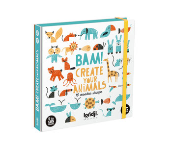 Londji Stamps: Bam! Create Your Animals