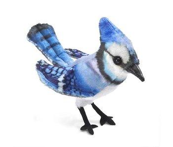 Mini Blue Jay Finger Puppet