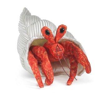 Mini Hermit Crab Finger Puppet
