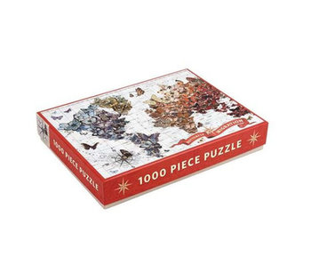 Puzzle 1000 Piece Wendy Gold Butterfly Migration