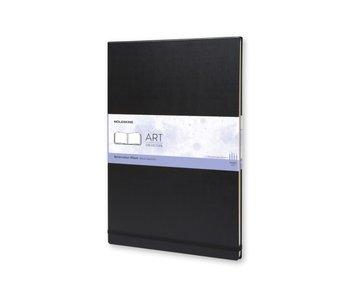 Moleskine Art: Watercolour Notebook Small - Black