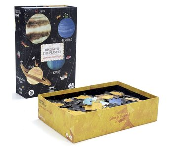 Londji Glow in the Dark Puzzle: Discover the Planets