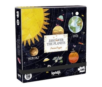Londji Pocket Puzzle: Discover the Planets