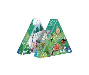 Londji Reversible Puzzle: Let's Go to the Mountain!