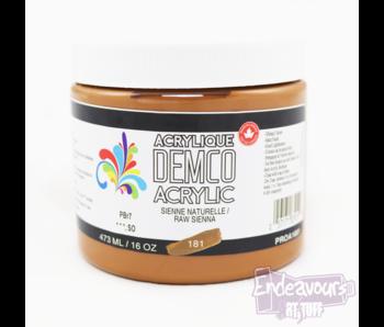 Demco 16OZ 473ML Acrylic  Raw Sienna