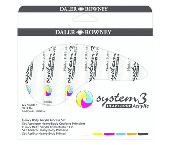 System 3: Heavy Body Acrylic Process Set
