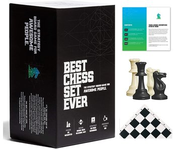 #4 BESTSELLER - Best Chess Set Ever - Black