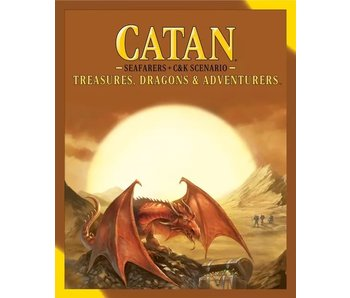 Catan EXP: Seafarers AND Cities & Knights Scenario: Treasures, Dragons, & Adventurers