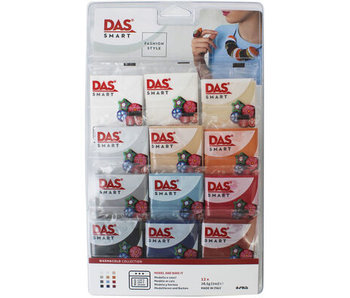 Lyra Das Smart 12x28G - Warm & Cool Oven Bake Ultra-Pliable Modelling Clay