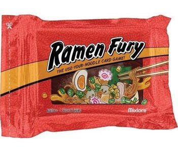 Ramen Fury: The Use Your Noodle Card Game
