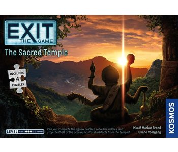 Exit: The Sacred Temple with Puzzle