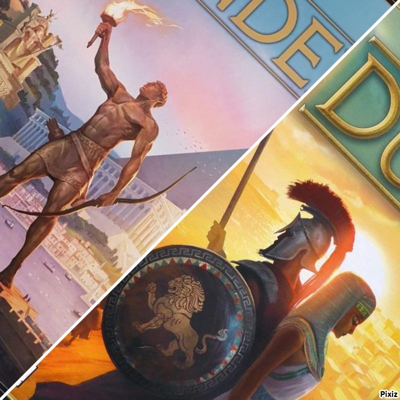 Featured Game: 7 Wonders & 7 Wonders Duel