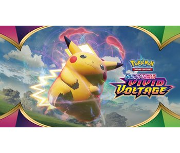 Pokemon TCG Booster Pack (Individual): Sword & Shield - Vivid Voltage