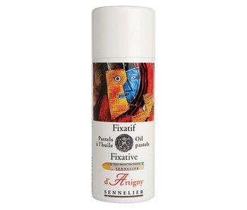 d'Artigny Oil Pastel Fixative 400ml Aerosol Spray