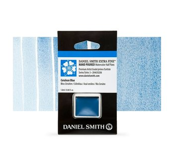 Daniel Smith Watercolour 1/2 Pan CERULEAN BLUE