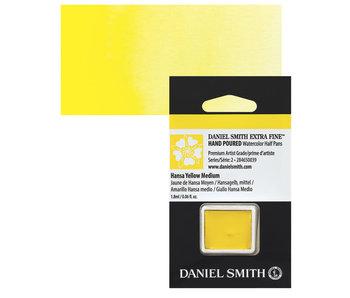 Daniel Smith Watercolour 1/2 Pan HANSA YELLOW MEDIUM