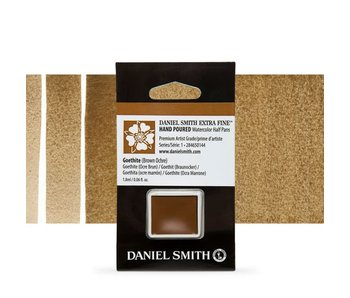 Daniel Smith Watercolour 1/2 Pan GOETHITE (BROWN OCHRE)