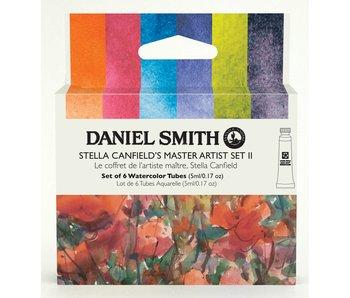 Daniel Smith Watercolour Stella Canfield's 6-Color Master Artist 5ml Tube Set II