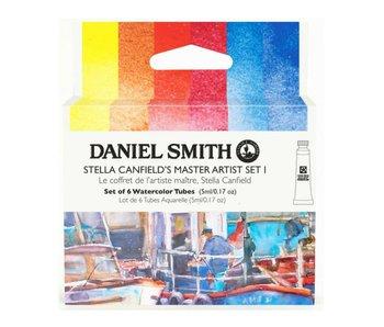 Daniel Smith Watercolour Stella Canfield's 6-Color Master Artist 5ml Tube Set I