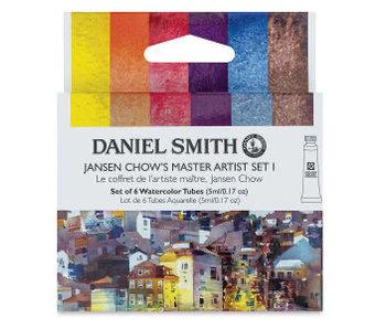 Daniel Smith Watercolour JANSEN CHOW 1 5ML 6 Colour Set