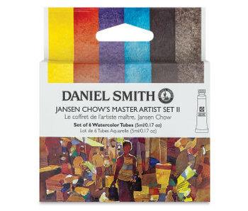 Daniel Smith Watercolour JANSEN CHOW 2 5ML 6 Color Set