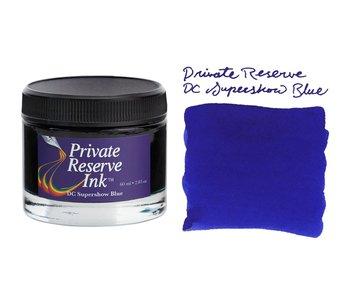 Private Reserve Ink, 60 ml ink bottle; DC Supershow Blue