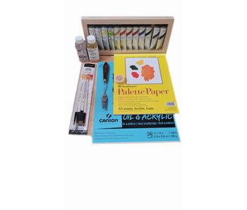 Endeavours Holiday Artist Oil Painting Gift Set