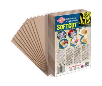 Essdee SoftCut Carving Block 150x105x3mm Single Sheet