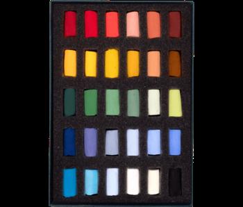 Unison Colour Soft Pastel - Starter Half Stick 30 Box Set