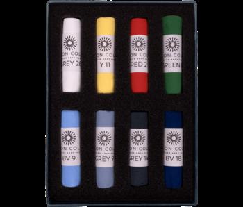 Unison Colour Soft Pastel- Starter 8 Box Set