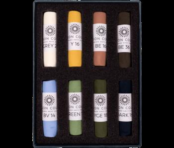 Unison Colour Soft Pastel - Landscape 8 Box Set