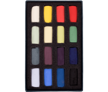 Unison Colour Soft Pastel - Starter Half Stick 16 Box Set