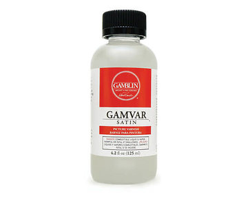 Gamvar Picture Varnish 8.5 Ounce
