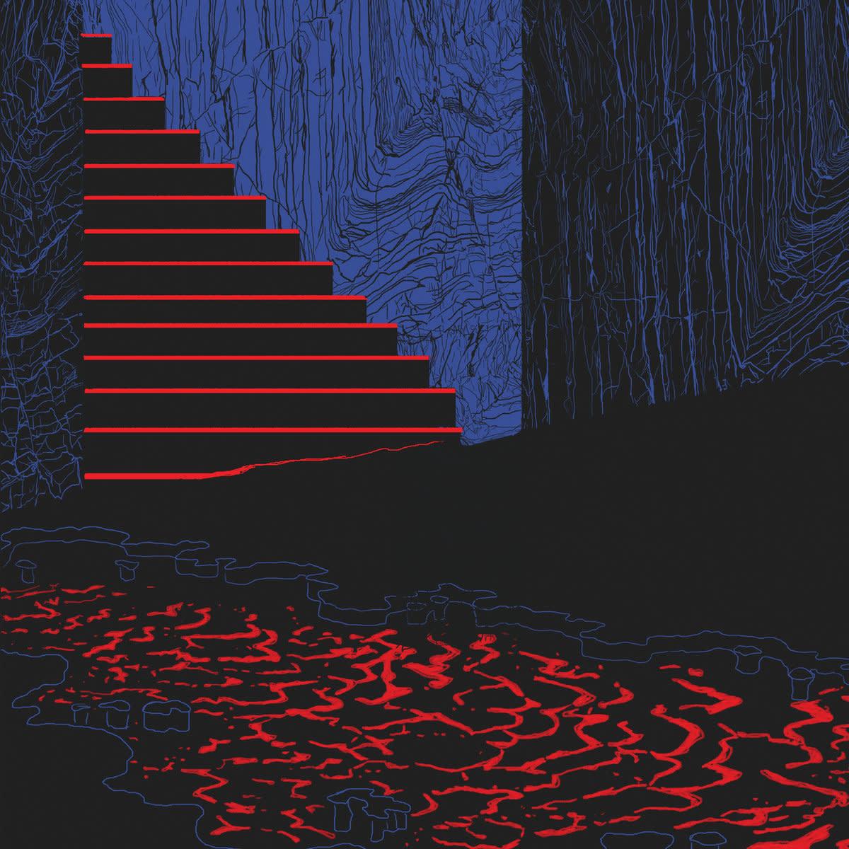 Bleu Nuit • Le jardin des mémoires-1