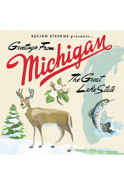 Sufjan Stevens • Greetings From Michigan: The Great Lake State