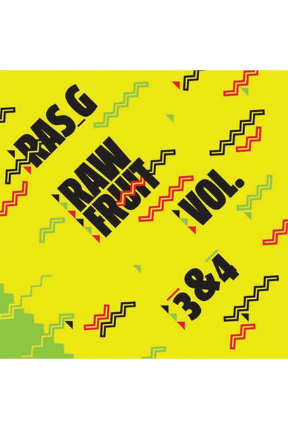 Ras G ‎• Raw Fruit, Vols. 3-4