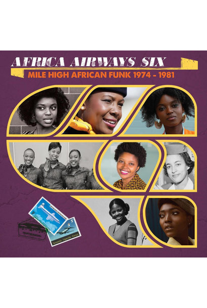 Artistes Variés • Africa Airways Six (Mile High Funk 1974-1981)