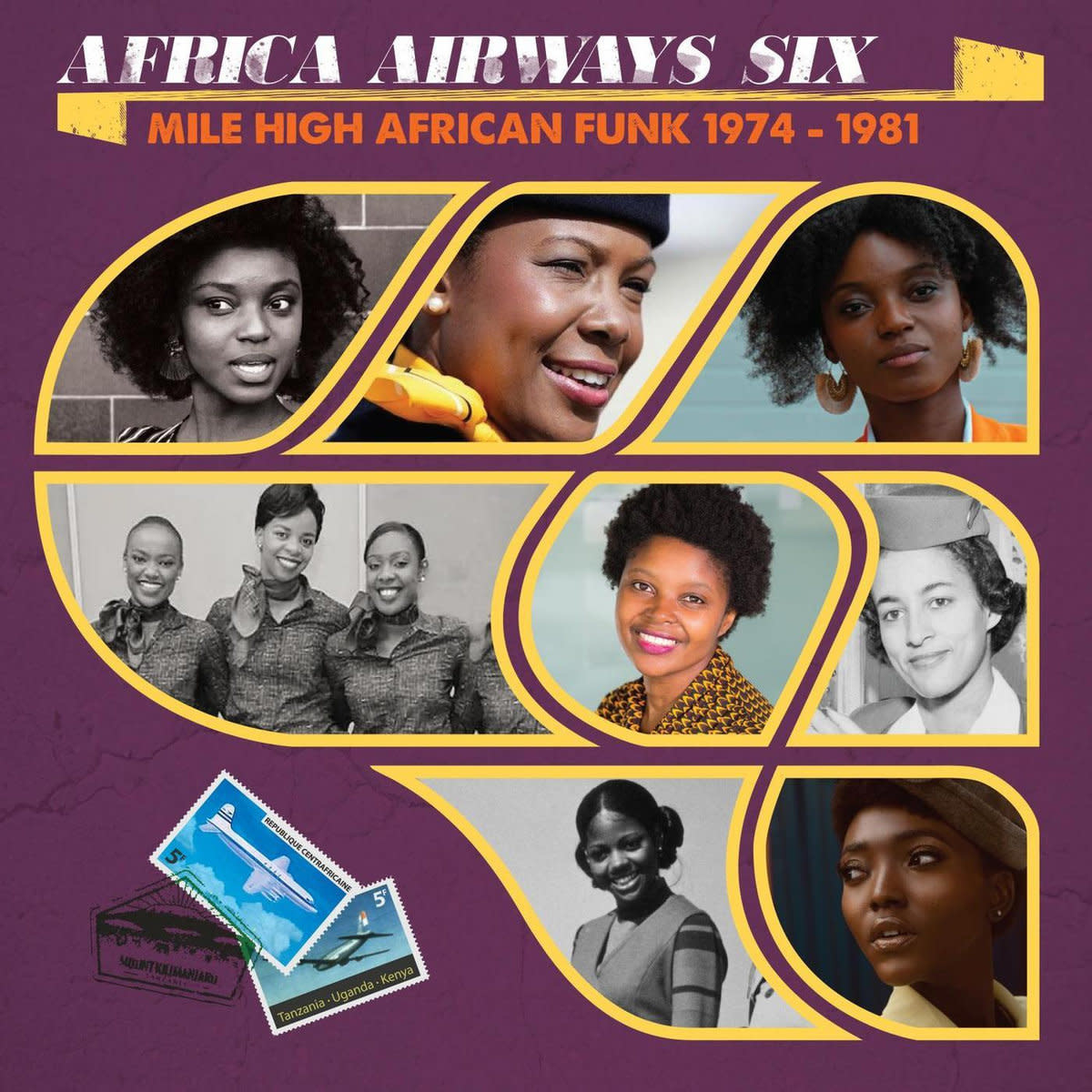 Artistes Variés • Africa Airways Six (Mile High Funk 1974-1981)-1