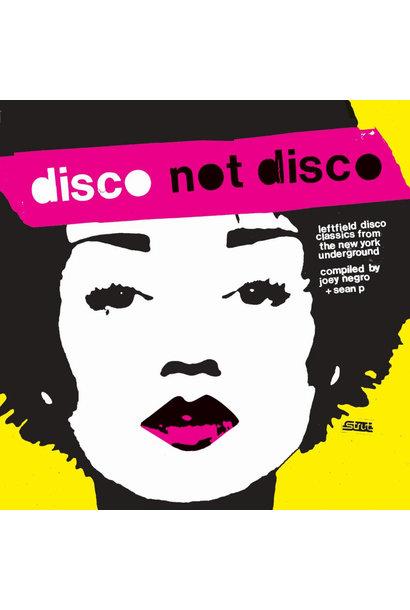Artistes Variés • Disco Not Disco