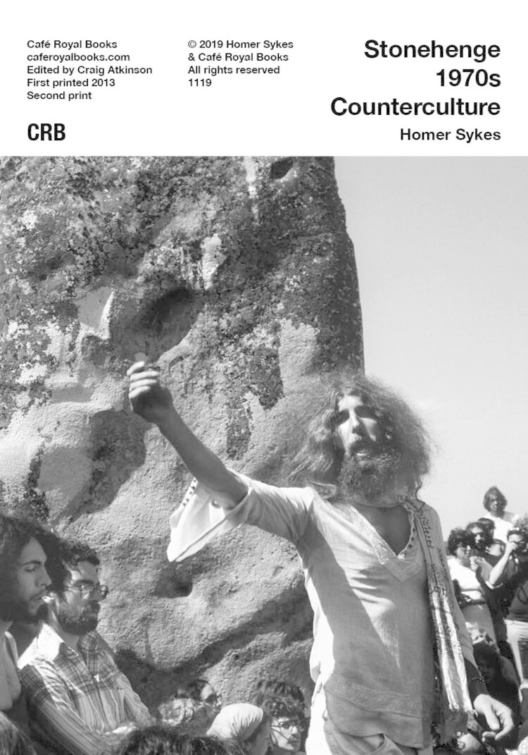 Café Royal Books • Homer Sykes - Stonehenge 1970s Counterculture-1