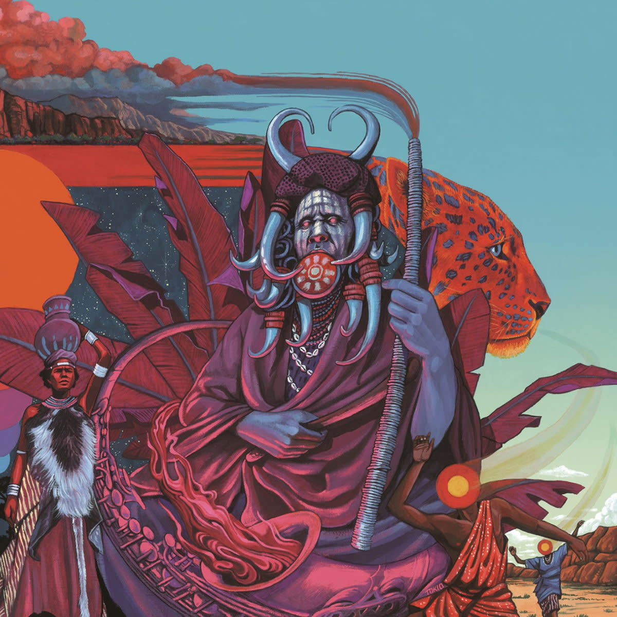 Idris Ackamoor & The Pyramids • Shaman!-1