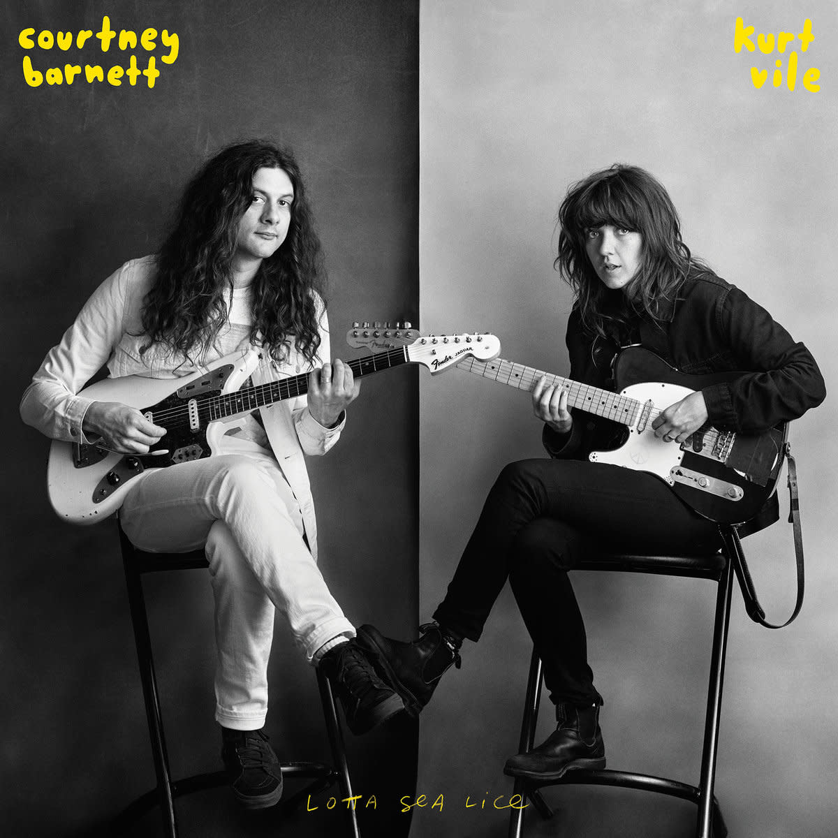 Courtney Barnett and Kurt Vile • Lotta Sea Lice-1
